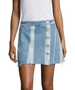 3X1 | Higher Ground Distressed Mini Skirt