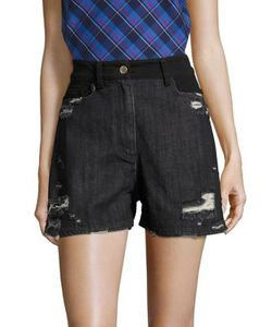Public School | Thana Distressed Shorts