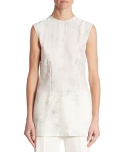 Calvin Klein Collection | Sleeveless Faded Blouse
