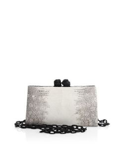 Nancy Gonzalez | Frame Crocodile Lizard Clutch