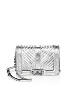 Rebecca Minkoff | Chevron Quilted Leather Crossbody Bag