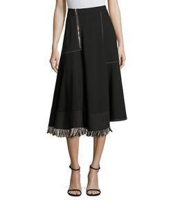 Derek Lam   Fringe Midi Skirt
