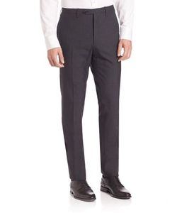 Kiton   Solid Wool Pants