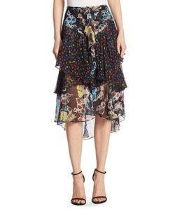 Jason Wu | Printed Chiffon Skirt