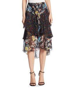 Jason Wu | Printed Chiffon Skirt