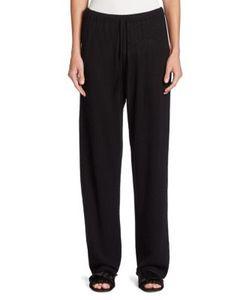 The Row | Pepita Cashmere Silk Pants