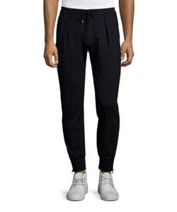 Paul Smith | Pleated Wool Jogger Pants