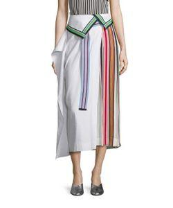 Diane von Furstenberg | Side Pleated Ribbon Skirt