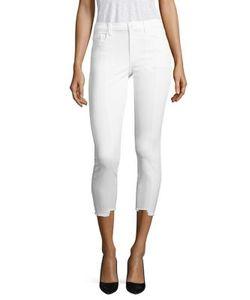 J Brand | Step Hem Pintuck Skinny Jeans