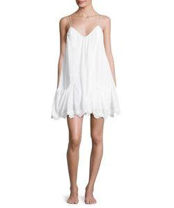 Ondademar | Miranda Lace-Accented Short Dress