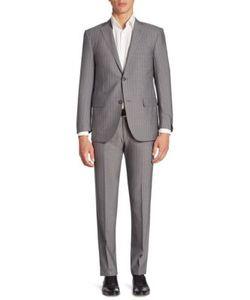 Corneliani | Striped Wool Suit