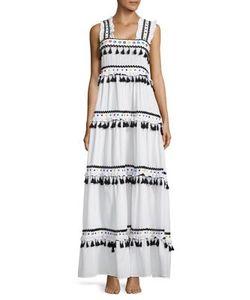 Dodo Bar Or | Amal Tassel Studded Maxi Dress