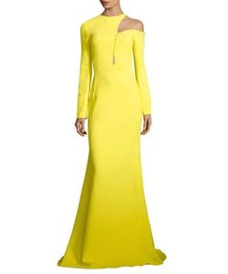 Antonio Berardi | Shoulder Cutout Gown