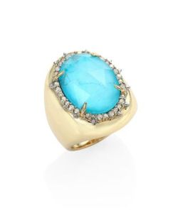 Alexis Bittar | Elements Turquoise Crystal Ring
