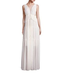 See by Chloé | Sleeveless Pleated Gown