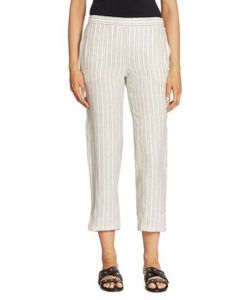 Theory | Thorina Striped Linen Pants