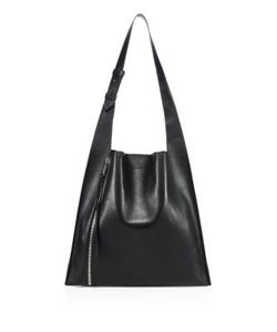 Elena Ghisellini | Estia Leather Zip Hobo Bag