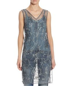 Polo Ralph Lauren | Sequined Tulle Tunic
