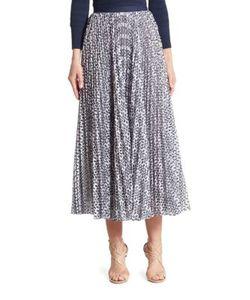 Oscar de la Renta | Pleated Skirt