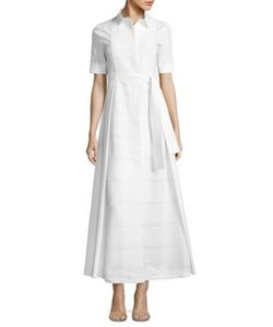 Piazza Sempione | Short Sleeve Cotton Dress