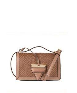 Loewe | Barcelona Small Python Leather Crossbody Bag