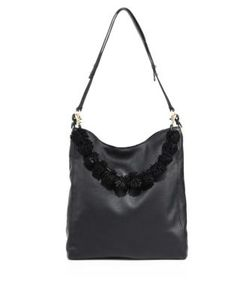 Loeffler Randall | Pom Pom Leather Hobo Bag