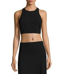 Theory | Nikayla Rosina Crepe Cropped Top