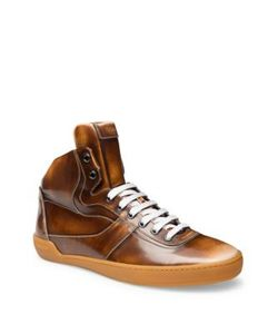 Bally | Calfskin Lace-Up Sneakers