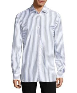 Isaia | Striped Regular Fit Shirt