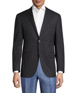 Corneliani | Striped Wool Sportscoat