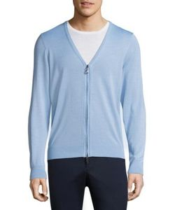 G/FORE | Zip-Front Cotton Cardigan