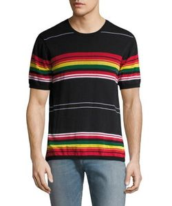 Ovadia & Sons | Knitted Striped Tee