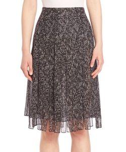 Michael Kors Collection | Frilled Silk Skirt
