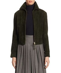 Ralph Lauren Collection | Garret Suede Cropped Jacket