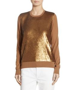 Ralph Lauren Collection | Sequined Cashmere Sweater