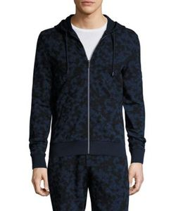 Michael Kors | Subtle Camouflage Print Zipper Hoodie