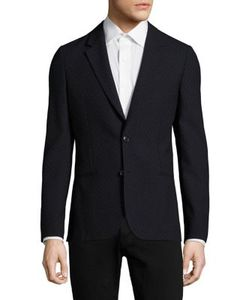 Paul Smith | Micro-Dot Print Wool Jacket