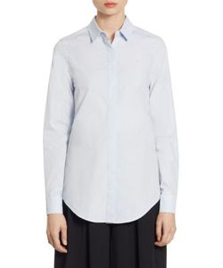Tome | Tie Back Cotton Shirt