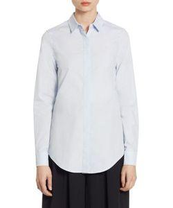Tome | Tie Back Cotton Shirt