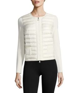 Moncler | Maglia Two-Pocket Quilted Zip Cardigan