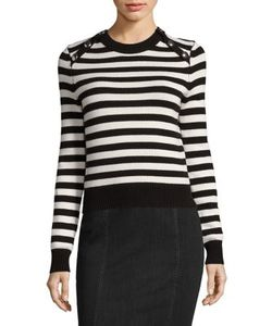 Michael Kors Collection | Cashmere Striped Pullover