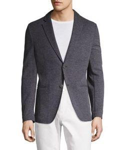 Michael Kors   Birdseye Knit Regular Fit Blazer