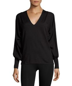 Ralph Lauren Collection | Blouson V-Neck Sweater