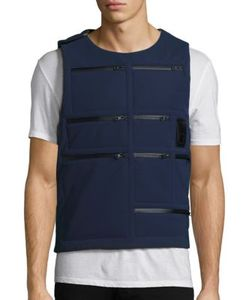 Letasca | Reversible Camo Printed Vest