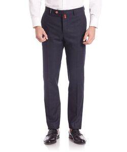 Kiton   Check Wool Pants