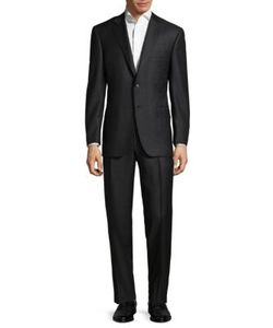 Canali | Patterned Wool Suit