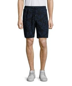 Michael Kors | Subtle Camouflage Print Drawstring Shorts