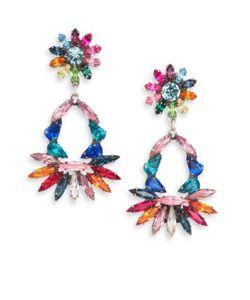Dannijo | Cabella Swarovski Crystal Chandelier Earrings