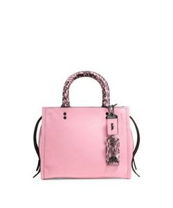 Coach | Rogue 25 Leather Snakeskin Tote