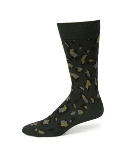 Paul Smith | Patterned Cotton Blend Socks